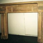 Fireplace Mantel Stripped Oak
