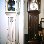 Grandmother Clock Before and After