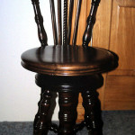 Piano Stool With Back