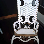 Wicker Cane Rocking Chair