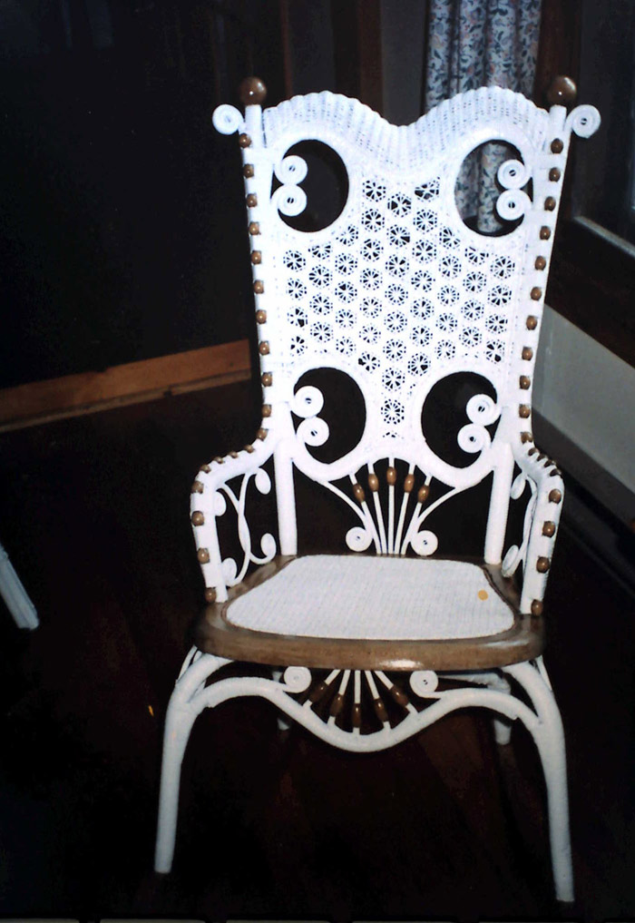 Wicker Cane Rocking Chair Before Wicker Cane Rocking Chair