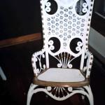 Wicker Cane Rocking Chair