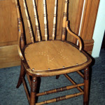 Wood Panel Seat